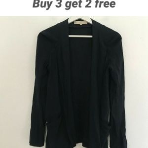 Vanessa Bruno Size 36 US 4 Black Blazer Jacket